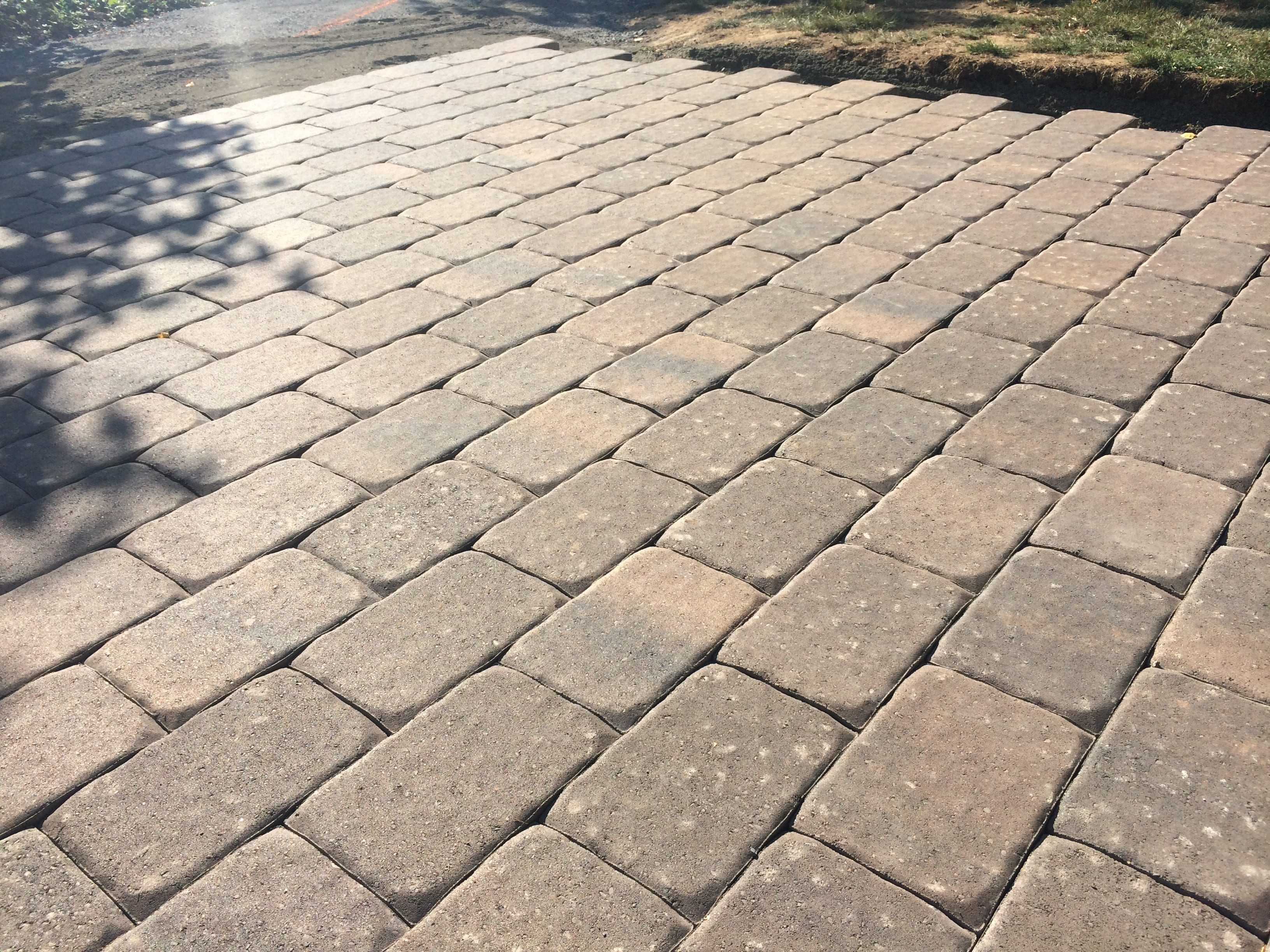 Pavers Give Stylish Flair To This Small Patio