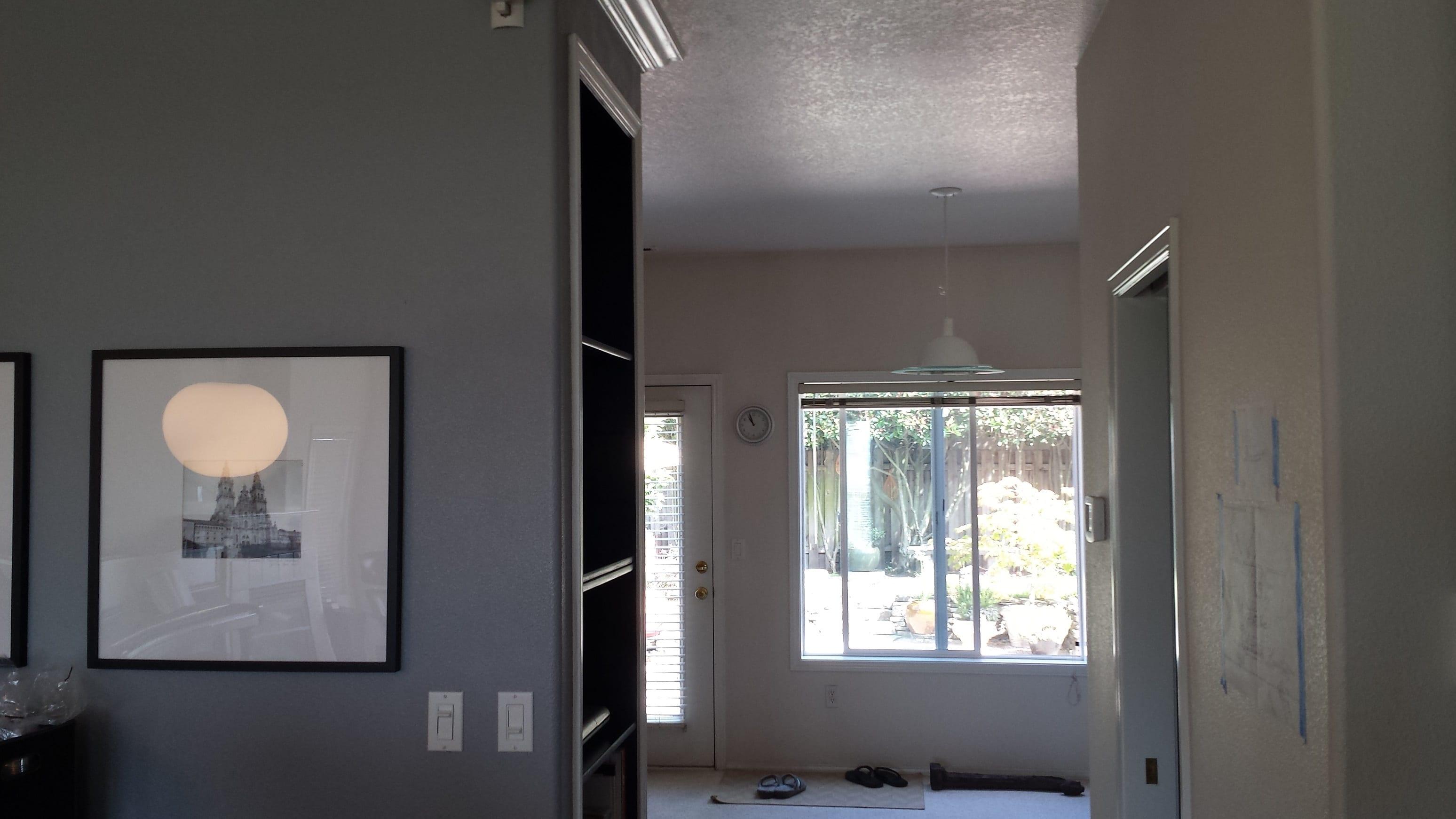 kitchen door before