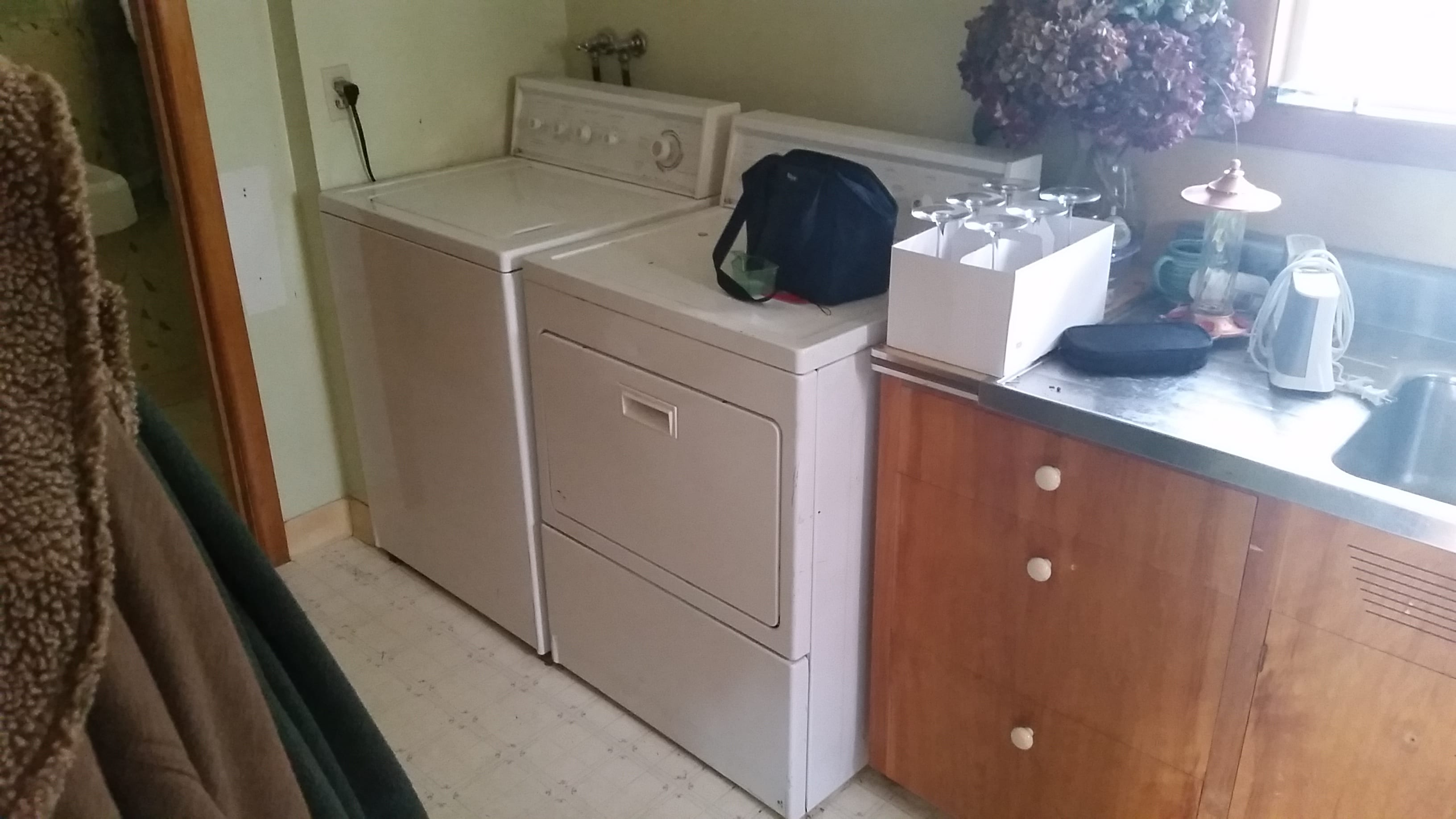 existing laundry