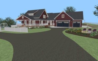 Porch & Garage Addition Design