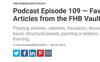 Kashas Design Build to be featured in Fine Homebuilding Magazine!