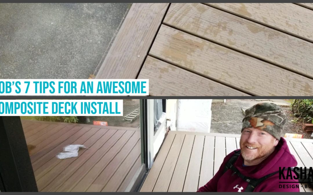 7 Tips for an awesome composite deck install