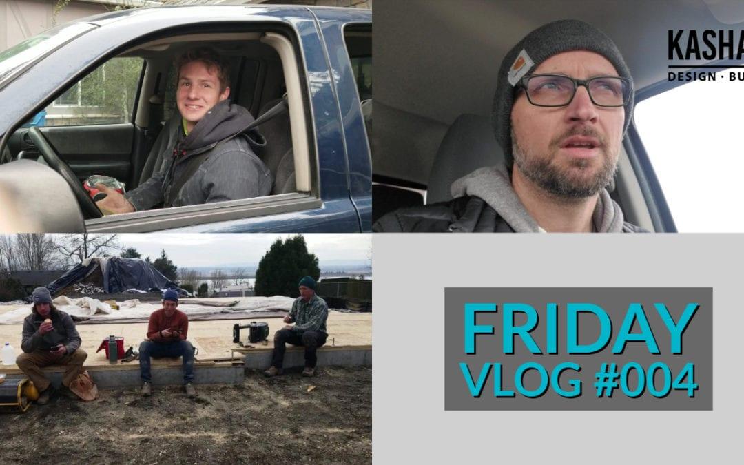 Friday Video Blog #004