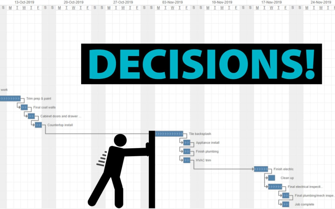 Why Making Decisions Before You Start Construction Matters