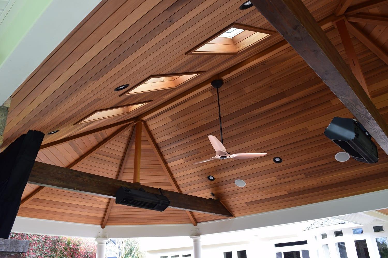 Cedar Tongue Groove Ceiling Options